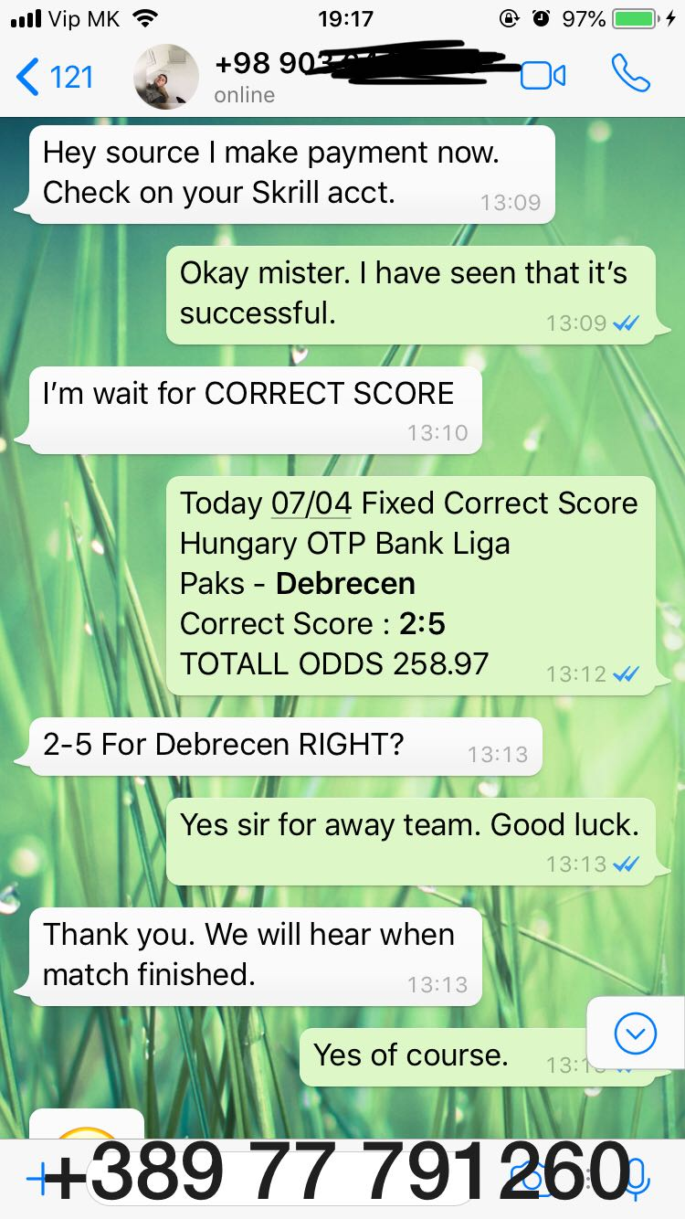 FIXED CORRECT SCORE FOR TODAY
