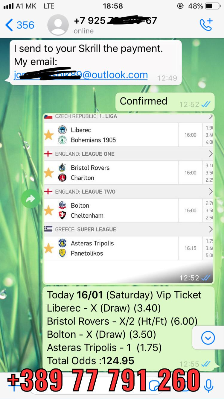 FIXED MATCHES COMBO WIN SOLOPREDICTION 16 01
