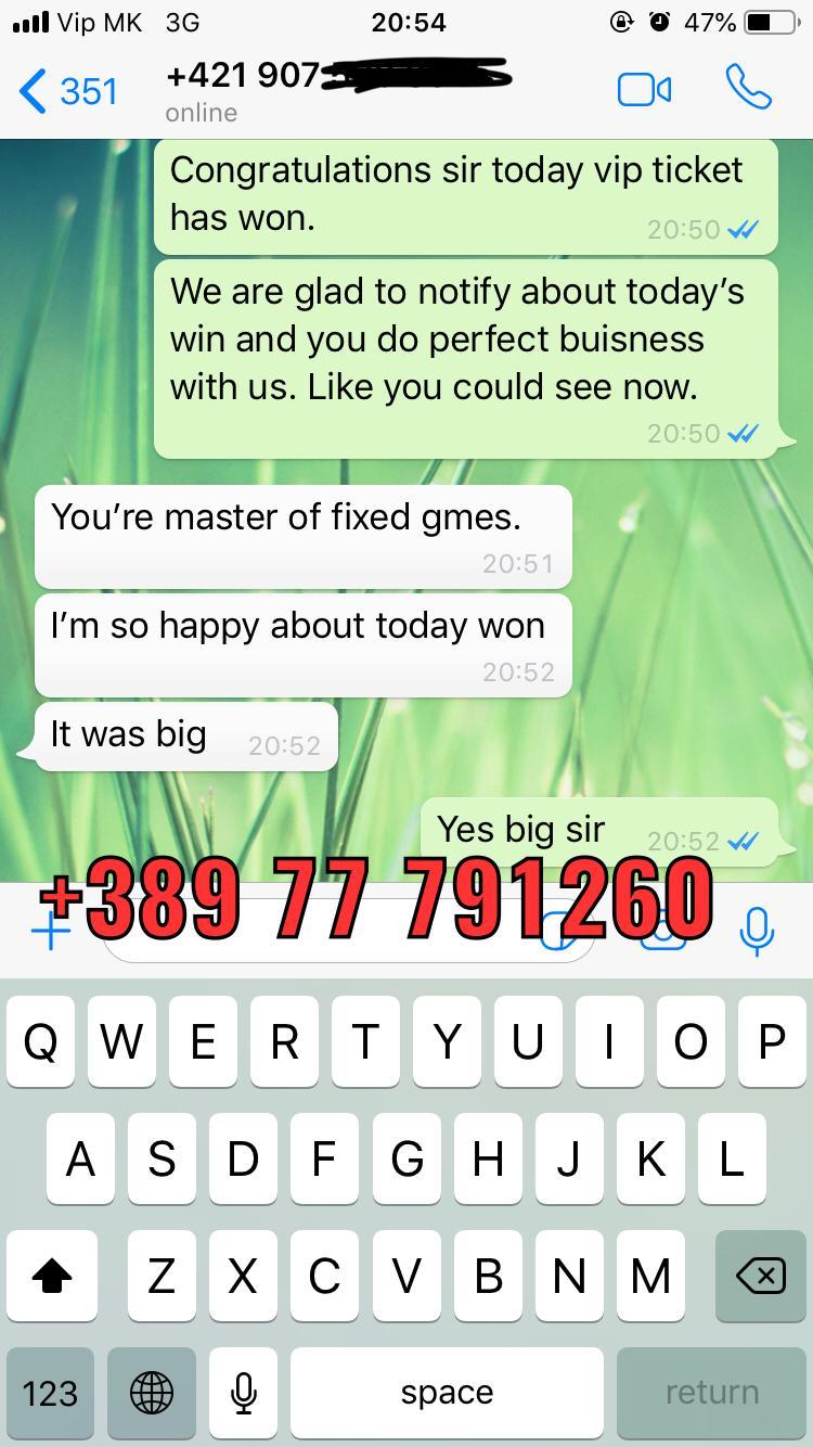 FIXED MATCHES WON 0206