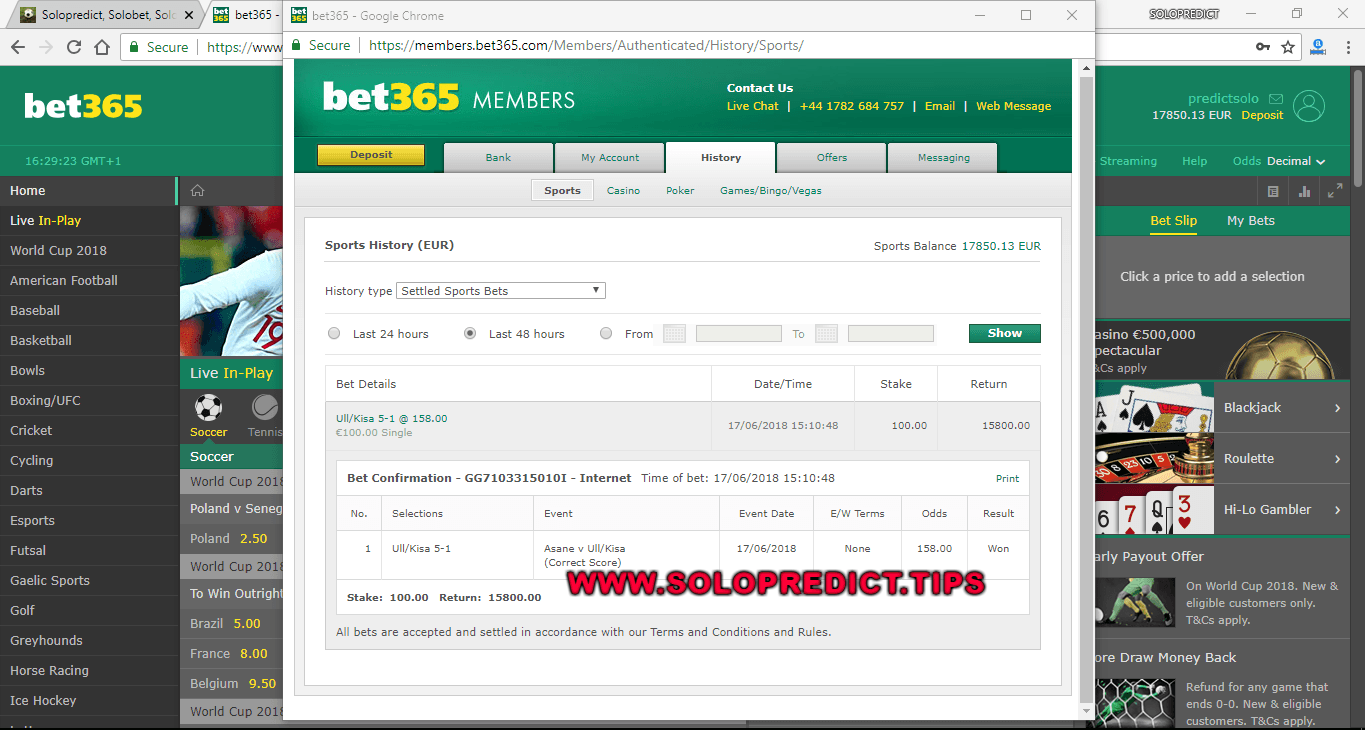 TODAY SOLOPREDICTIONS PROOFS FIXED MATCHES