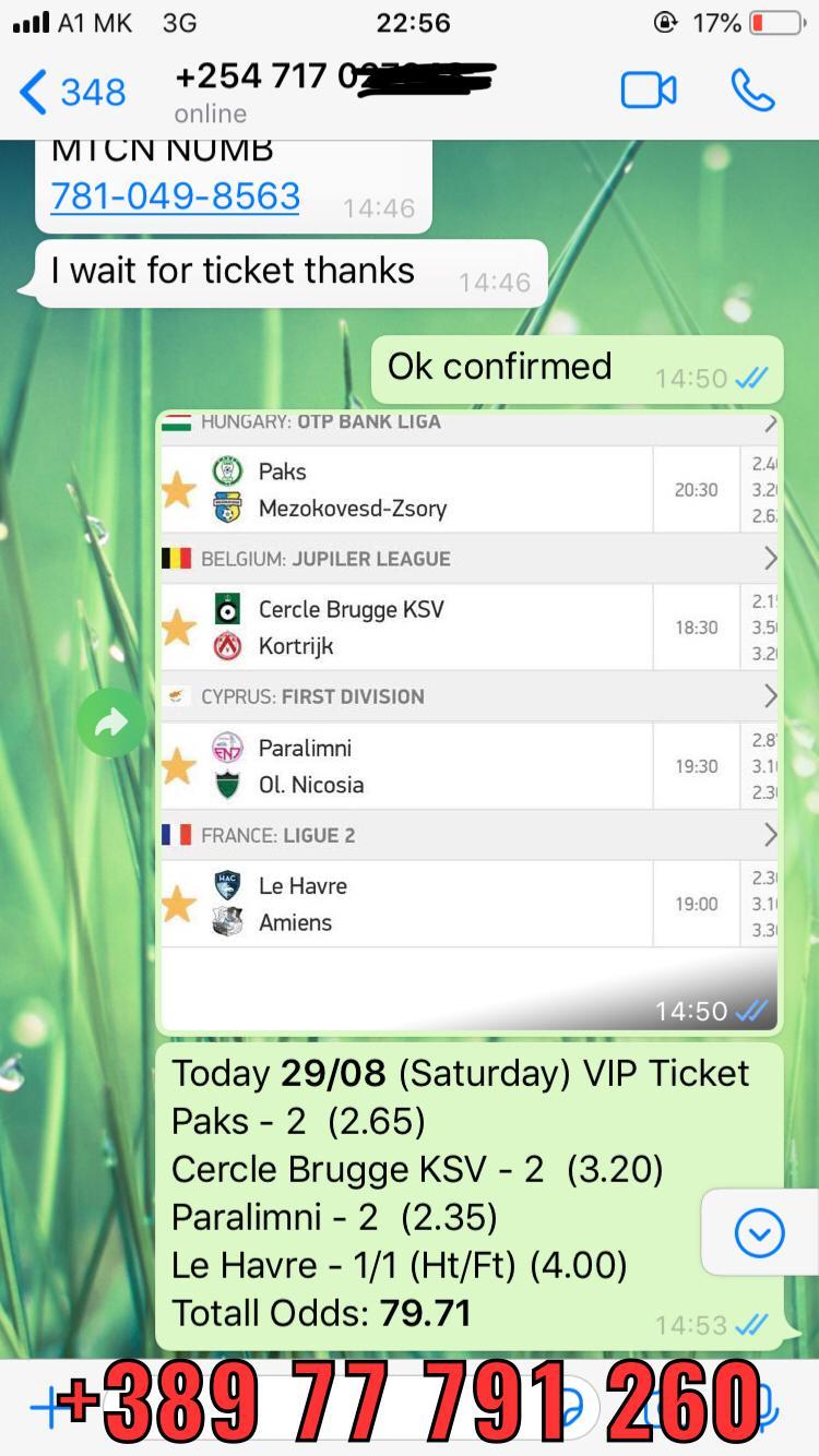 VIP COMBO FIXED MATCHES WON 29 08