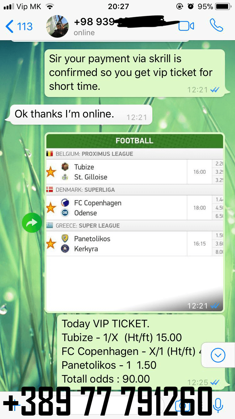 VIP TICKET PROOF solobet
