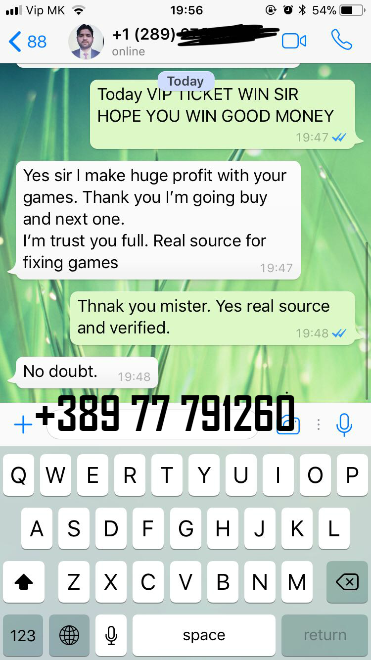VIP TICKET WHATSAPP REAL PROFF