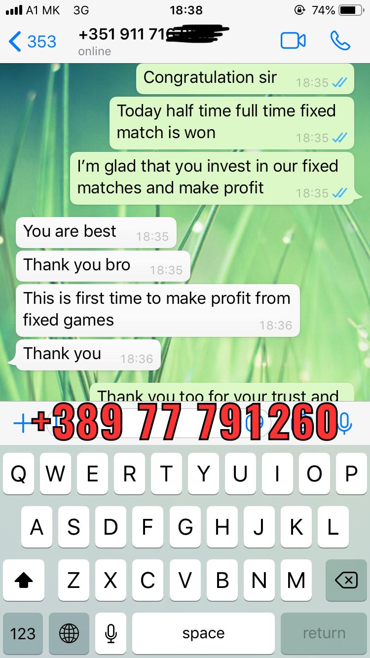 best fixed matches ht ft won 03 10