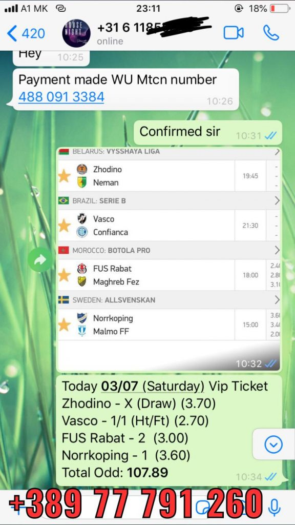 combined fixed matches won solo prediction 03 07