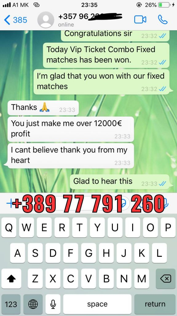 combo vip ticket won whatsapp conversation 20 04
