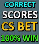 correct score fixed prediction
