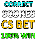 correct score fixed prediction