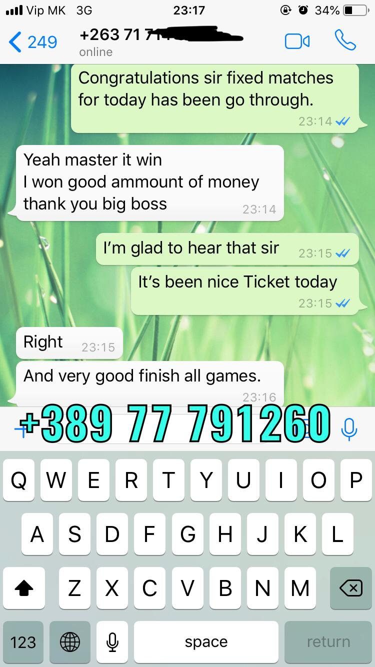 fixed matches vip ticket 08 12