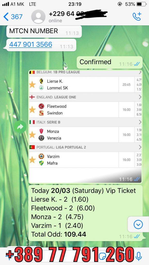 fixed matches whatsapp won 20 03 soccer