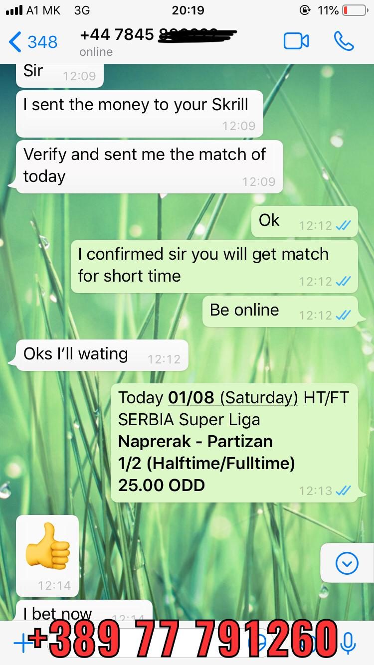 ht ft fixed match 01 08 100% sure win