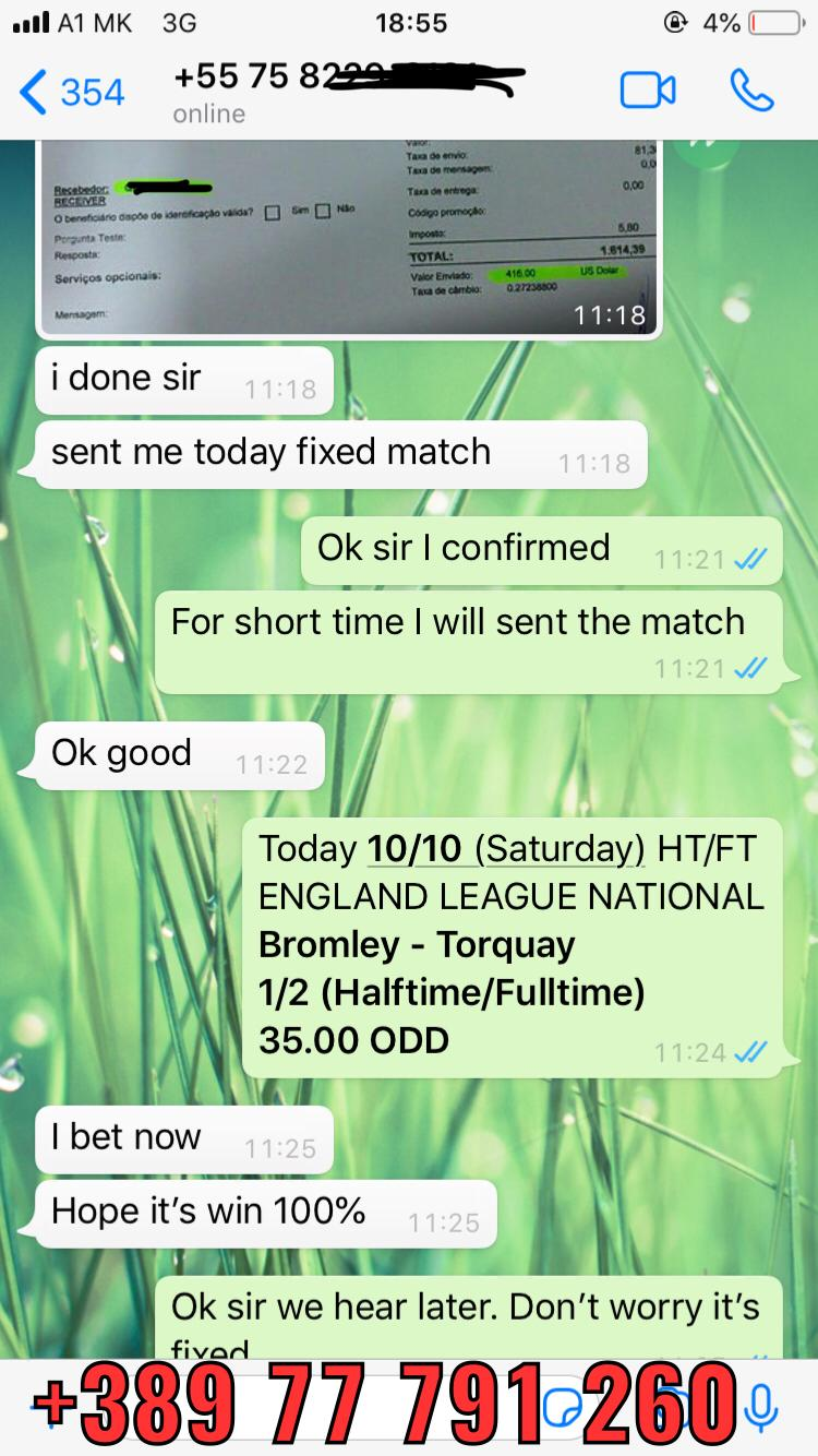 ht ft fixed match 10 10