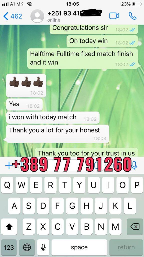 ht ft won fixed match 11 09