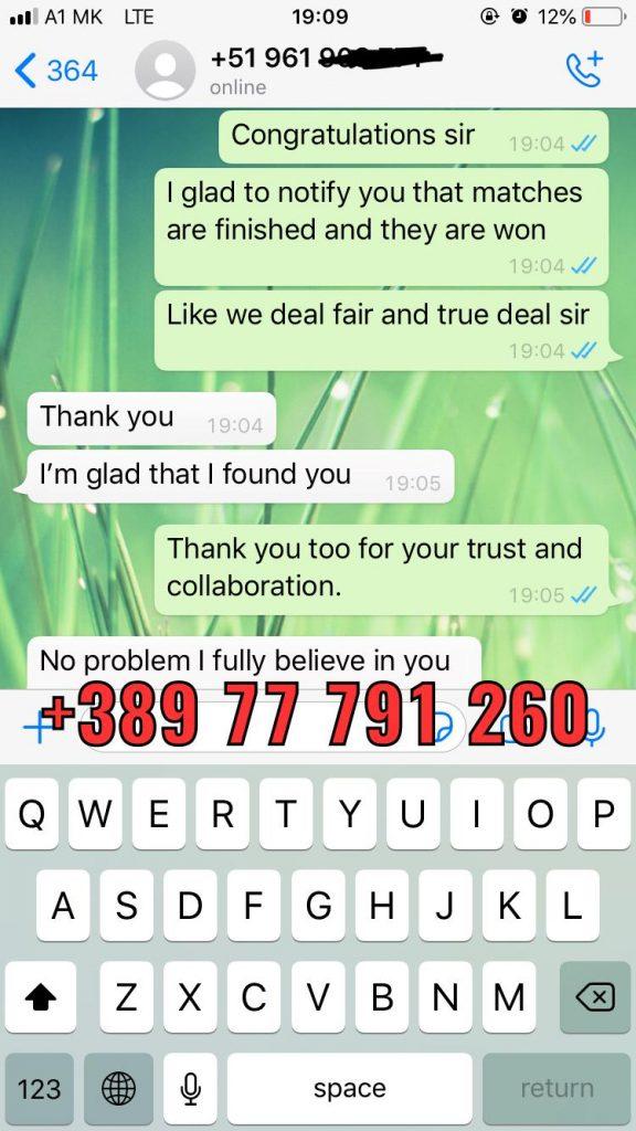 proof whatsapp vip ticket combo matches won 07 03