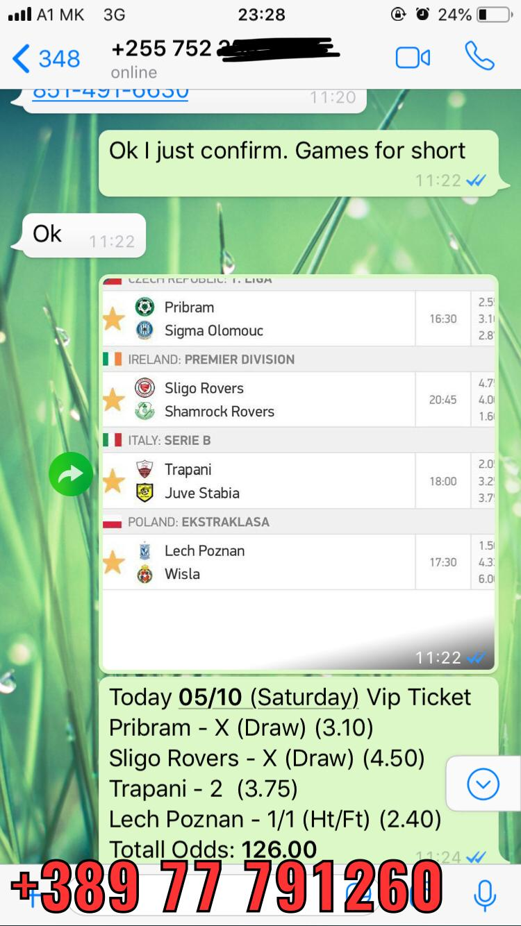 saturday combo fixed matches vip ticket 0510