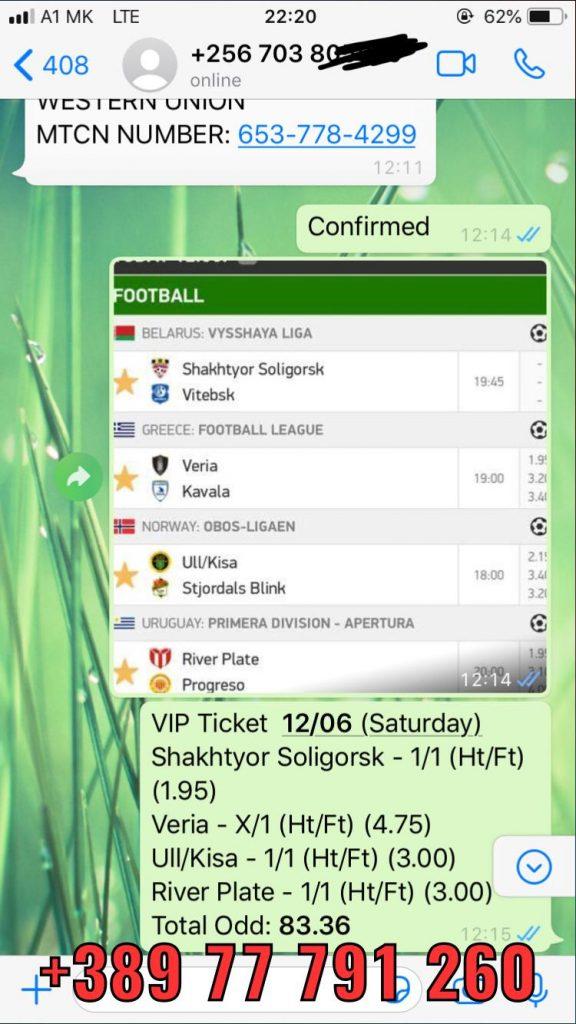 vip ticket won ht ft matches 12 06