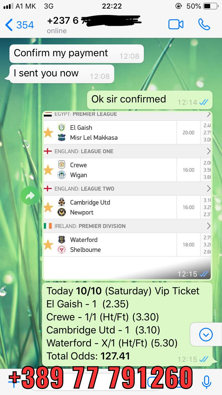 whatsapp fixed matches vip combo 10 10