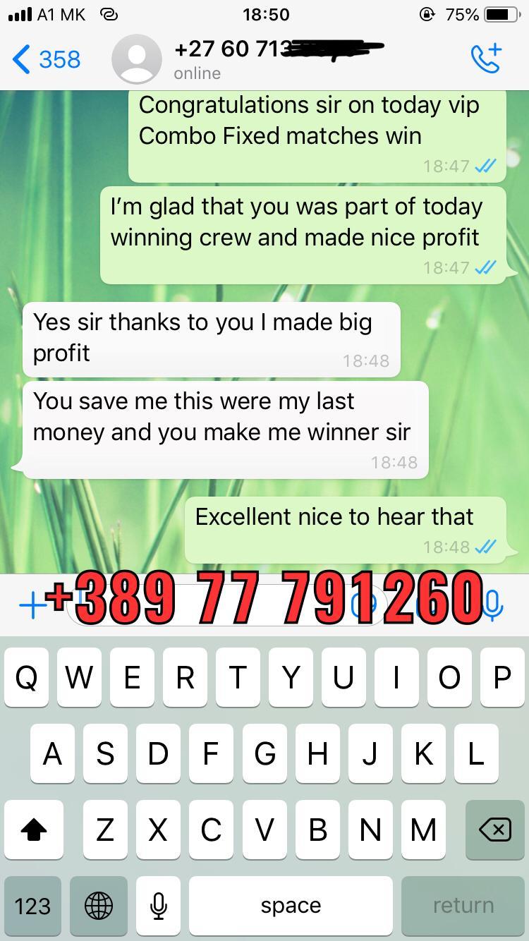 whatsapp fixed matches won 30 01