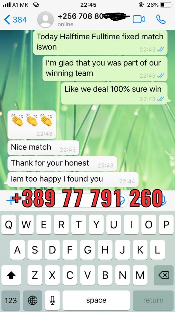 whatsapp proof fixed matches ht ft