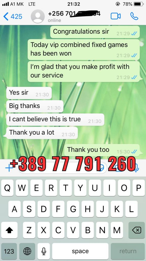 whatsapp proof fixed matches won solo predict