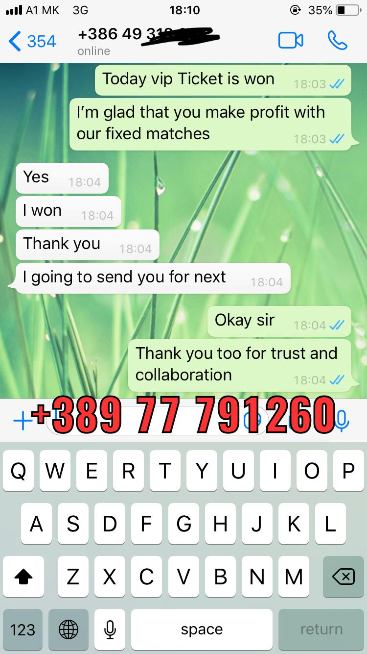 won vip ticket proof of whatsapp 17 10
